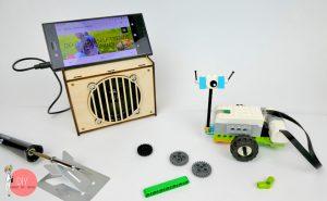 Lego We Do 2.0 und Lautsprecher Baukasten