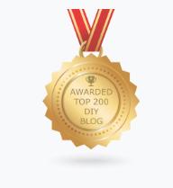 Auszeichnung Award Top Blog für Kinder-DIY-Trends