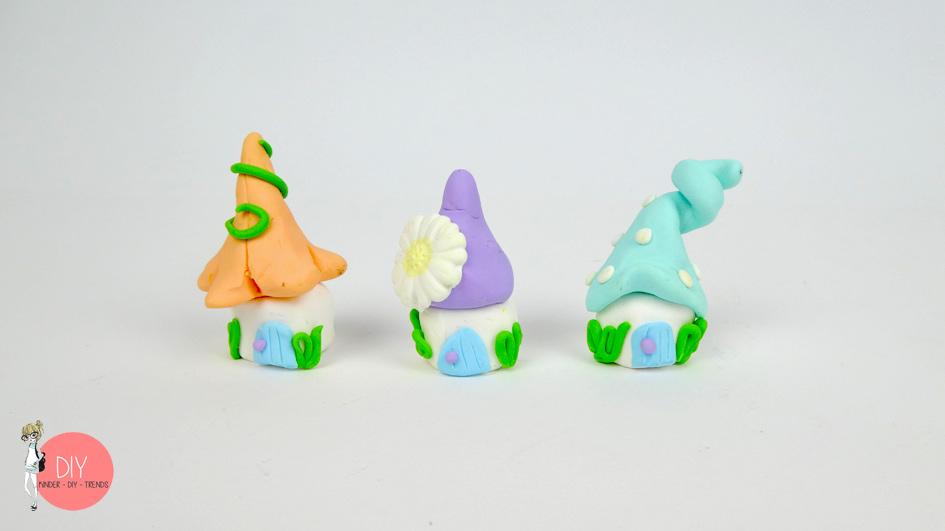 Bevorzugt DIY Wichtelhäuser aus FIMO basteln | Kinder-DIY-Trends VR61