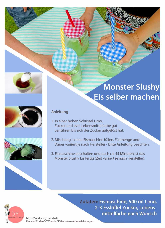 Rezept für Monsterslushy Eis