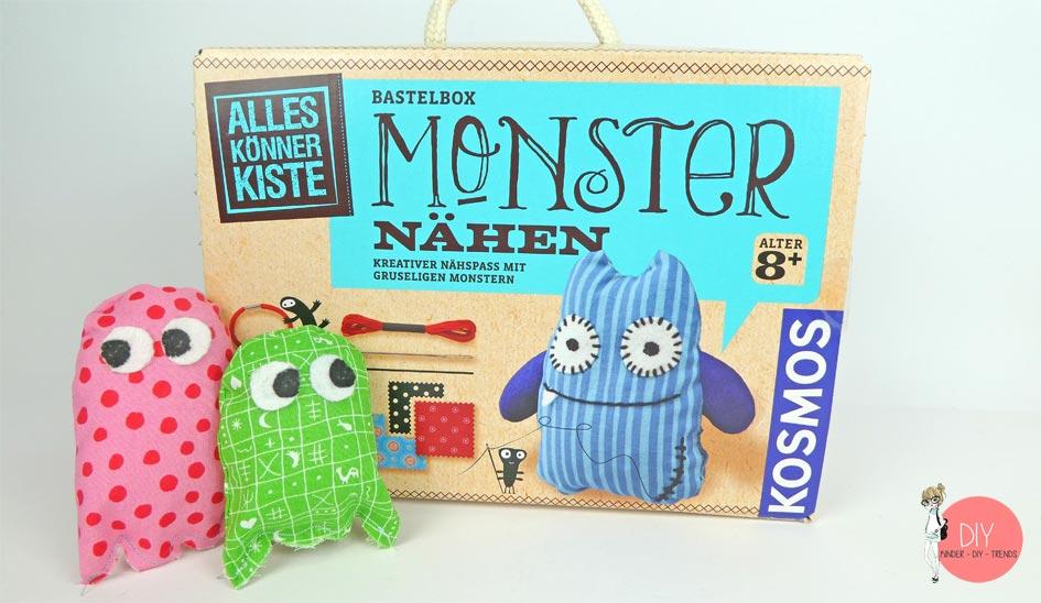 Monster nähen - Alleskönnerkiste von KOSMOS