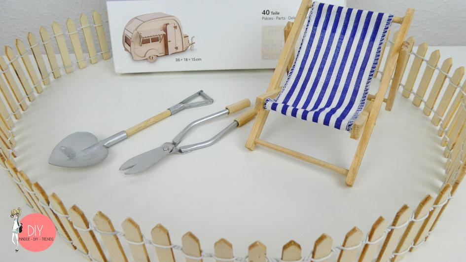 Gewinnspiel Verlosung Rayher 3D Holzbausatz Wohnwagen für Deko