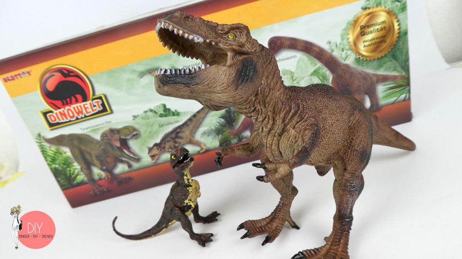 Dinosaurier Spielfiguren T-Rex als Geschenkidee