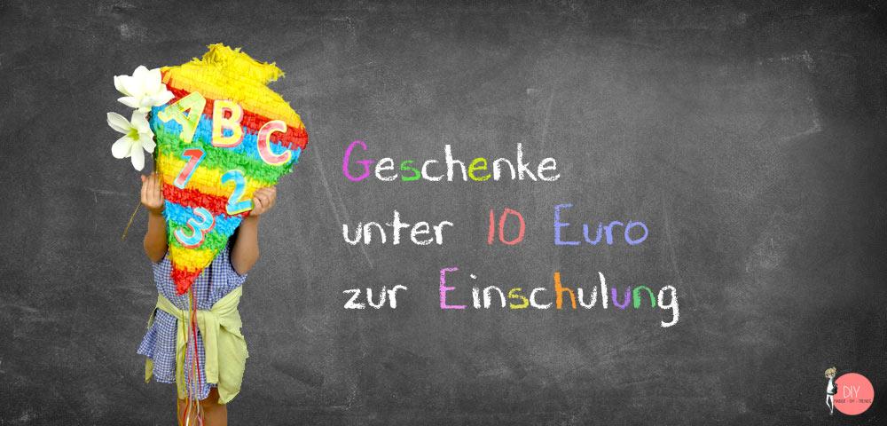 Geschenke unter 10€ von MIFUS.de zur Einschulung für die Schultüte