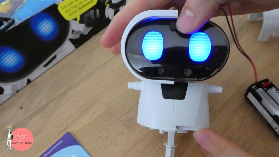 Der Roboter ist fast fertig gebaut - so baut man die Infraroterkennung