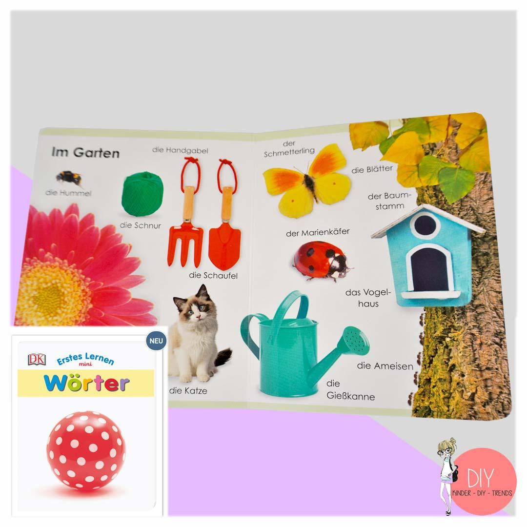 Erstes Lernen Bilderbuch für Kleinkinder - erste Worte sprechen lernen