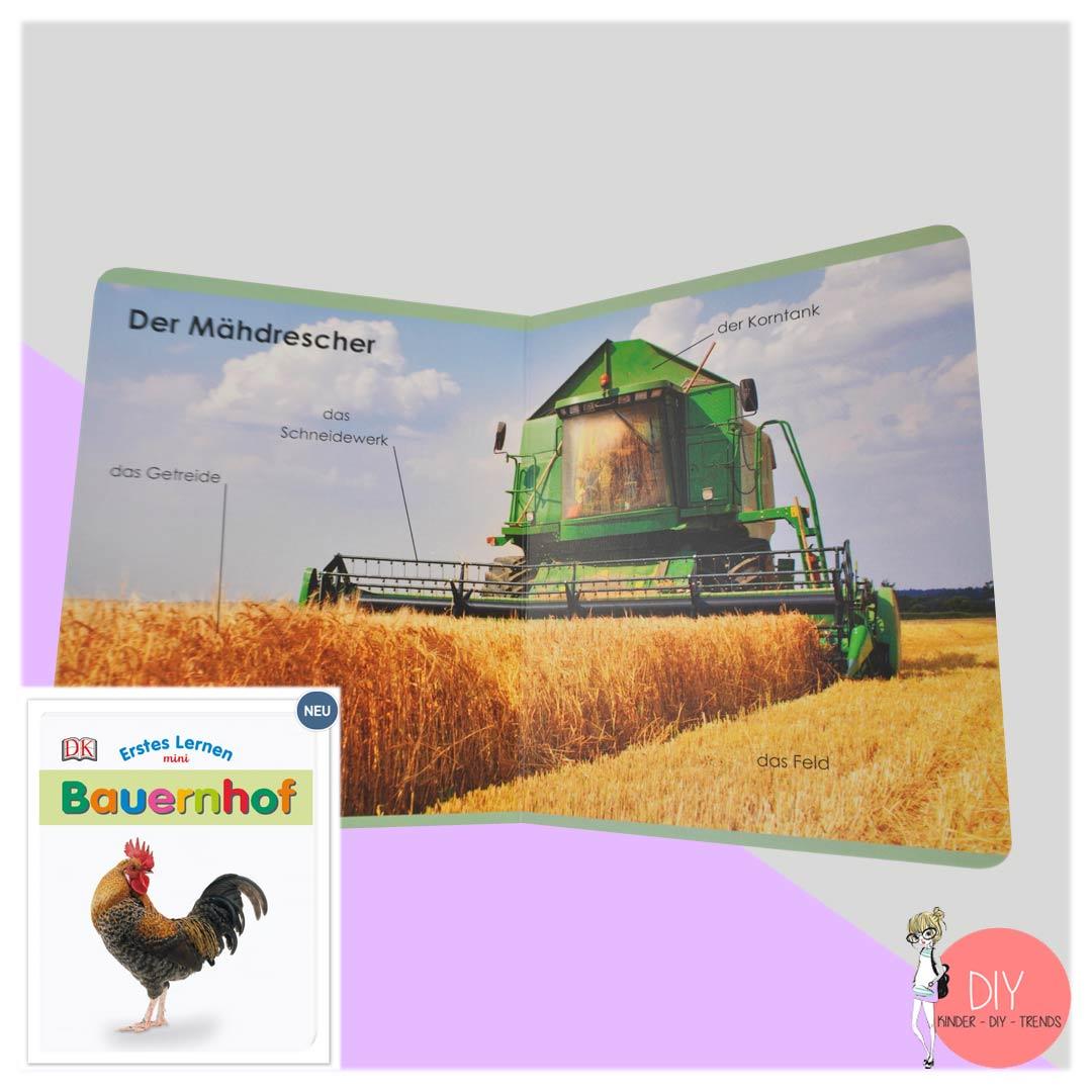 Bilderbuch für Kleinkinder Bauernhof - erste Worte sprechen lernen