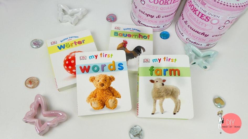 First Words - erste Worte auf Englisch Kinderbuch mit Bildern zum Fremdsprache lernen
