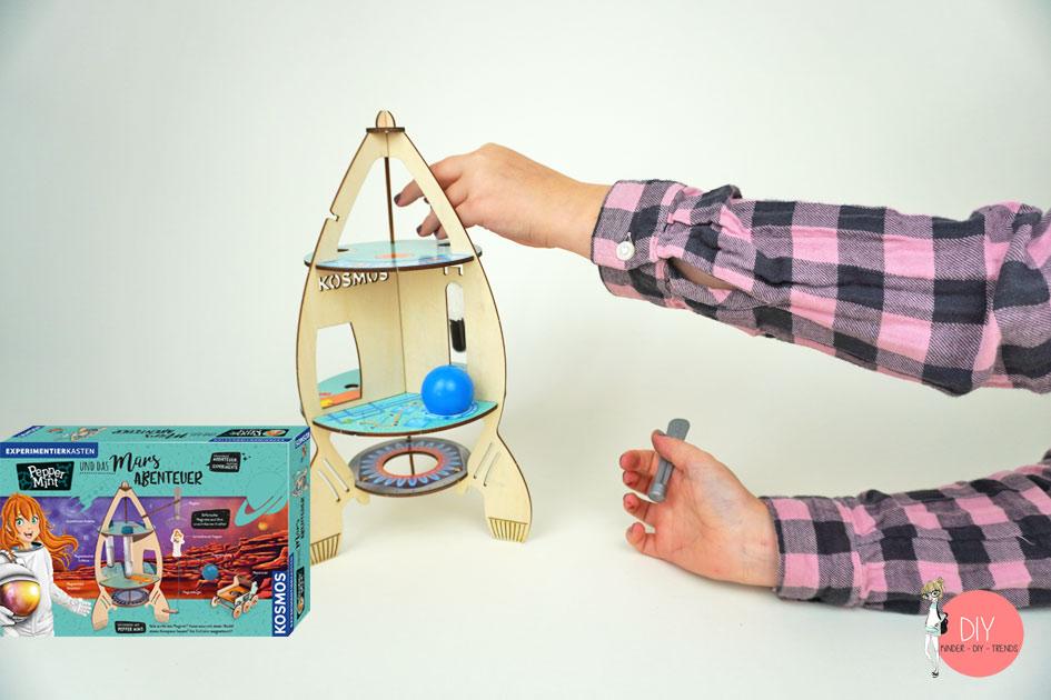 Physik Experimente für Mädchen und Jungen ab 8 Jahren mit Pepper MINT von KOSMOS