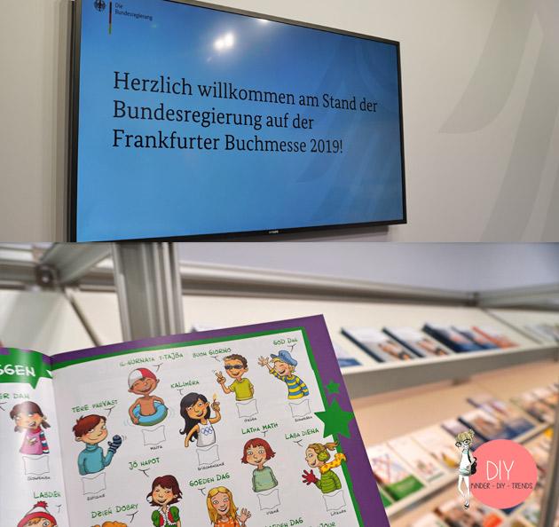 DIY Bloggerin Iris Käfer auf dem Stand der Bundesregierung auf der Frankfurter Buchmesse