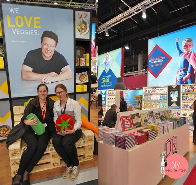 DIY Bloggerin Iris Käfer auf dem Stand von Dorling Kindersley auf der Frankfurter Buchmesse