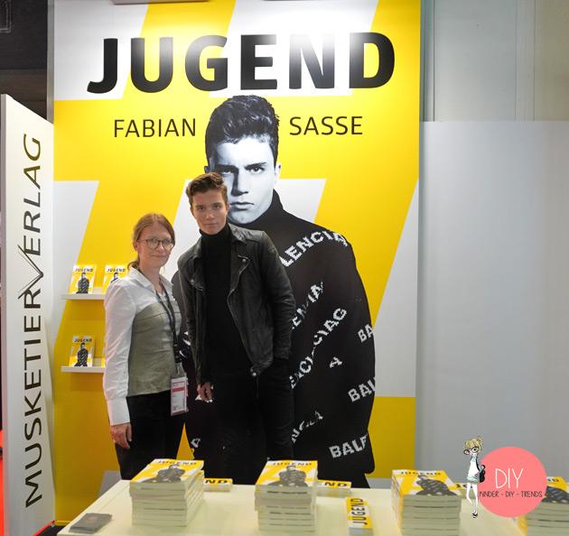 DIY Bloggerin Iris Käfer und Fabian Sasse auf der Buchmesse Frankfurt 2019