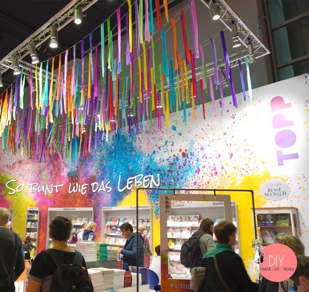 DIY Bloggerin Iris Käfer auf dem Stand vom TOPP Frechverlag auf der Frankfurter Buchmesse
