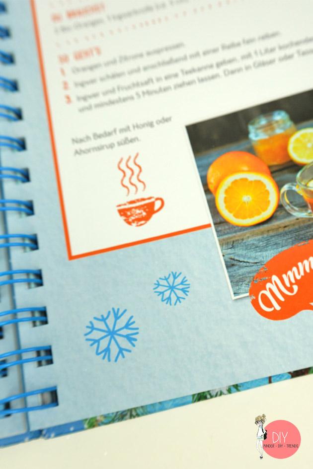 Rezepte, Backen und Kochen mit Kindern im Winter
