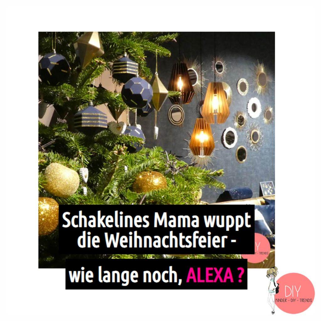 Blog Kolumne Wenn Schakelines Mama die Weihnachtsfeier wuppt