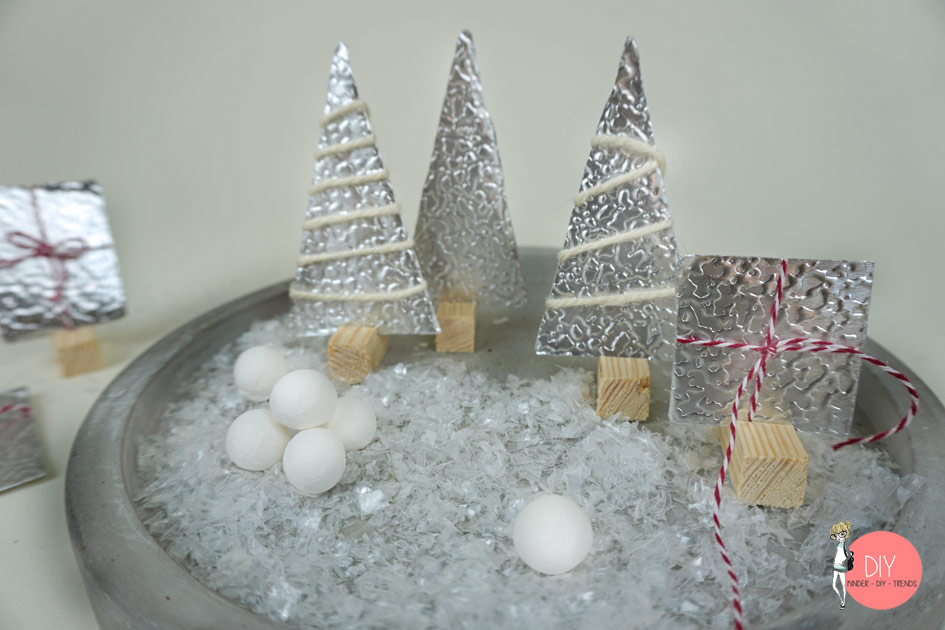 DIY Winterwald im Hygge Stil selber machen