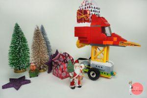 Nikolaus Schlitten Fahrzeug Roboter mit LEGO WeDo 2.0 bauen & programmieren