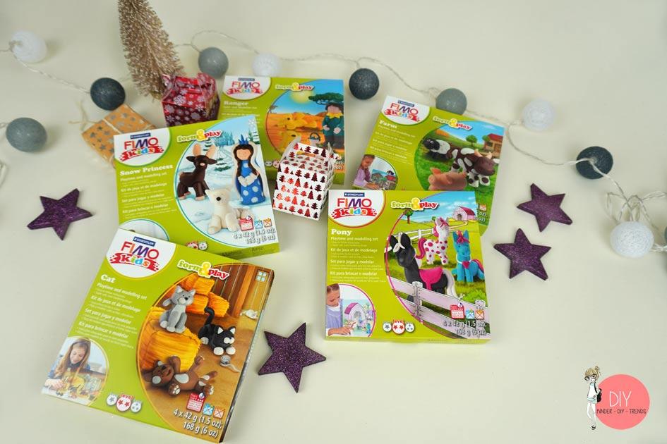 FIMO Kids Sets Prinzessin, Ranger, Farm, Katzen