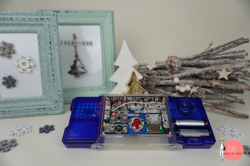 Elektronikbaukasten zum Experimentieren für Kinder
