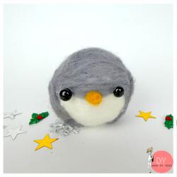 Anleitung Pinguin filzen
