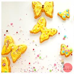 Anleitung Rezept Schmetterlinge Fingerfood backen