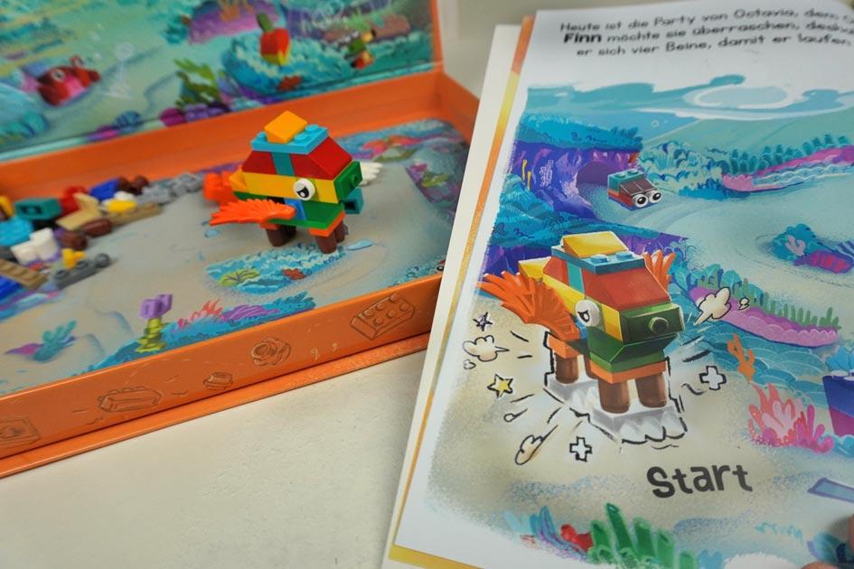 """Buch """"Lesen und Spielen"""" LEGO, Ameet Verlag"""