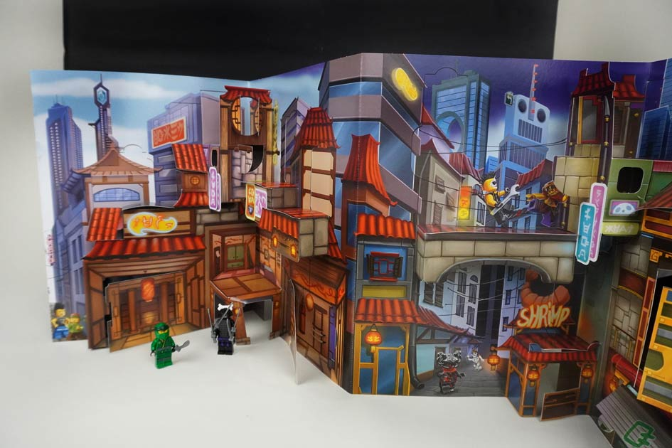 Pop up Buch mit LEGO Ninjago