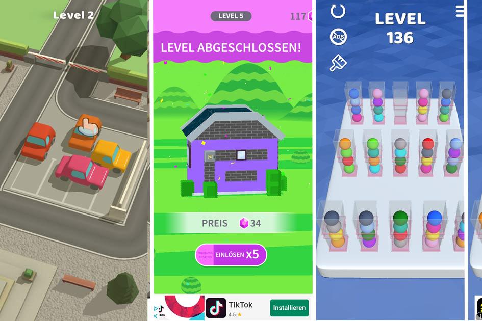 Logik Spiele Apps für Kinder