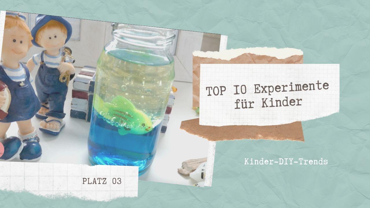 Das sind die TOP 10 Experimente für Kinder Platz 3