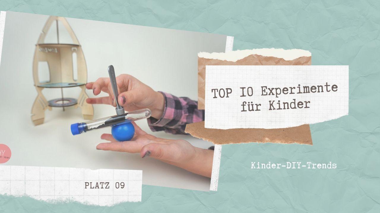Das sind die TOP 10 Experimente für Kinder Platz 9