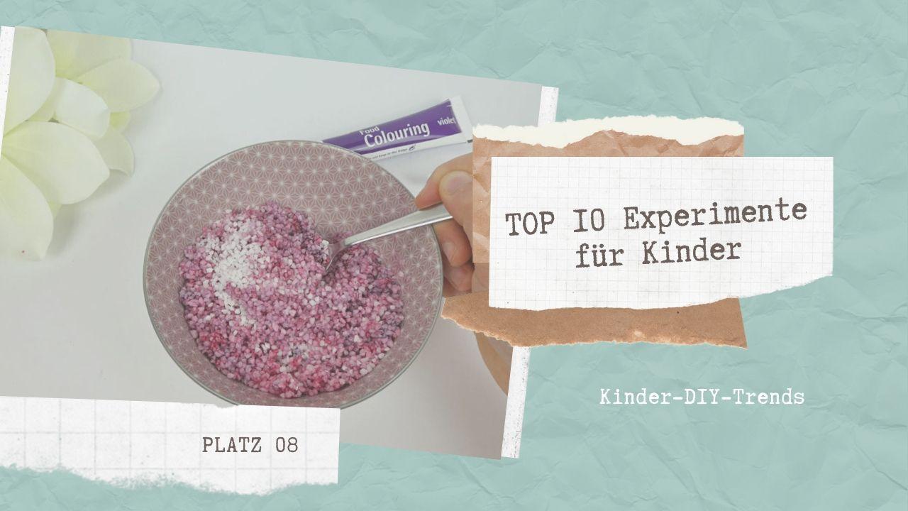 Das sind die TOP 10 Experimente für Kinder Platz 8