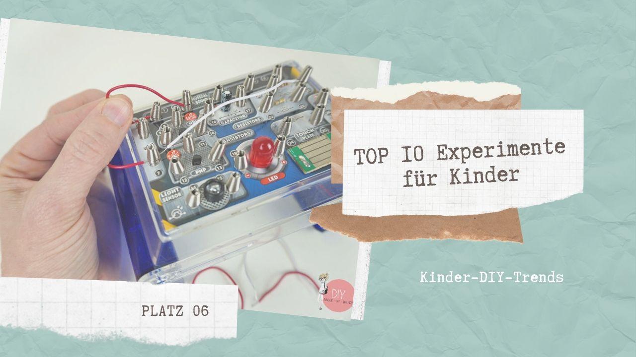 Das sind die TOP 10 Experimente für Kinder Platz 6