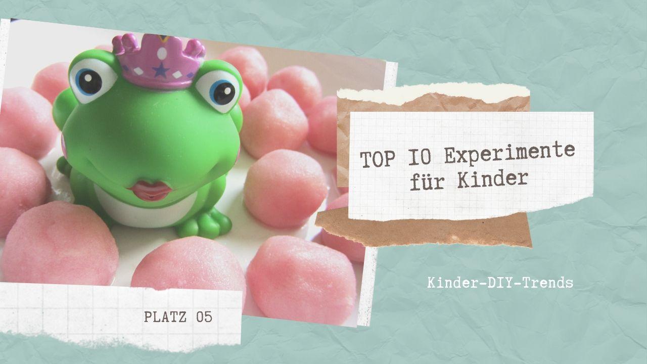 Das sind die TOP 10 Experimente für Kinder Platz 5