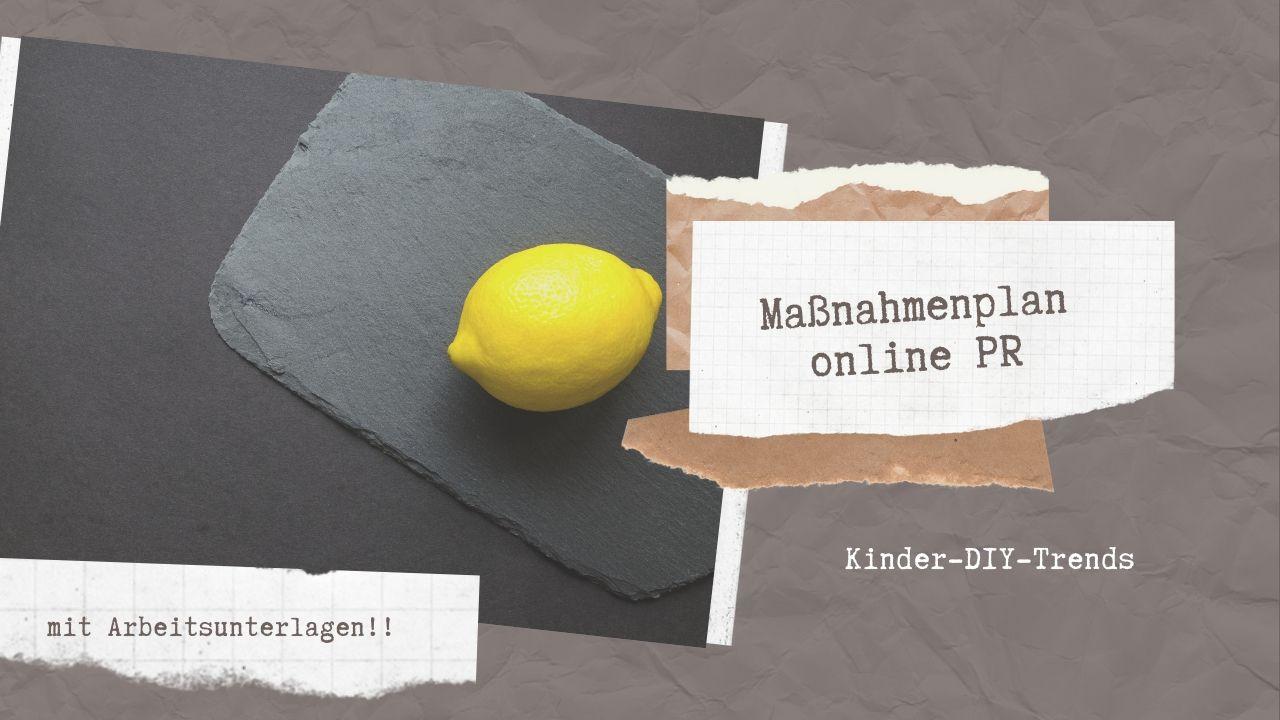 Massnahmenplan Online PR 04