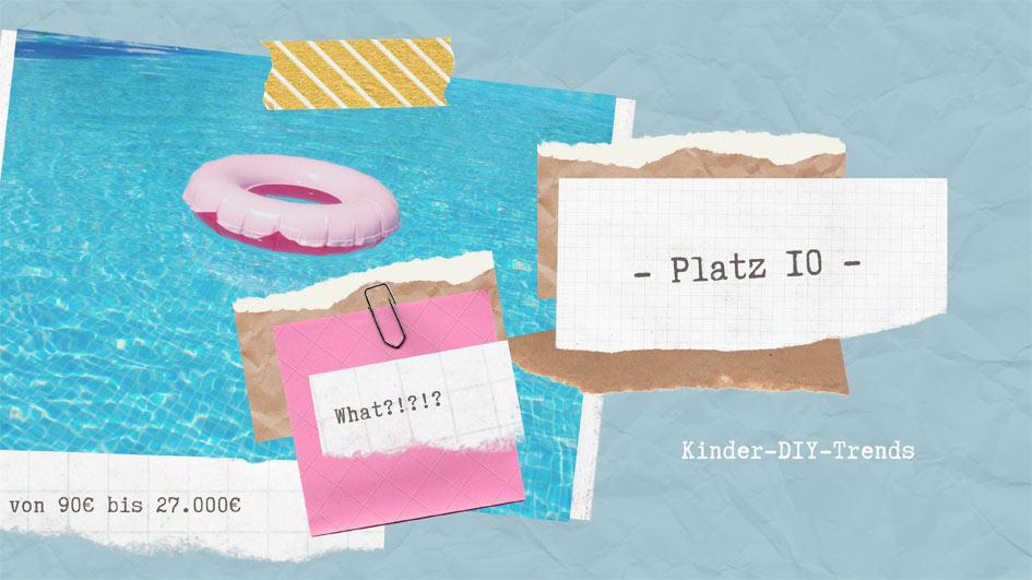 Die 10 teuersten Outdoor Spielzeuge und DIY für Kinder - Platz 10