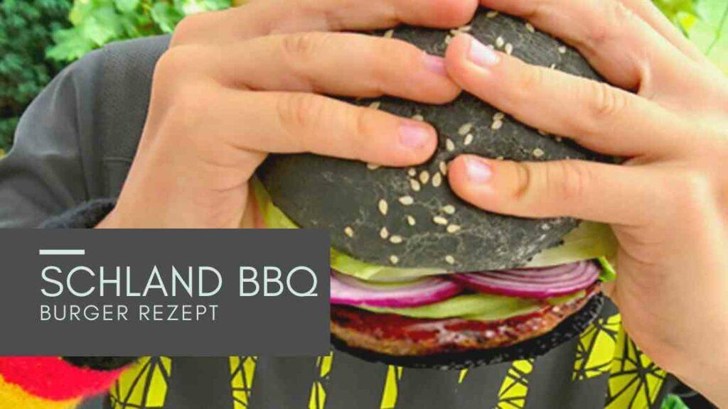 Sommerferien Idee für Kinder: Schland Burger