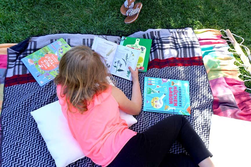 Buchtipps für Kinder in den Sommerferien - Natur, Kochen, Experimente für Kinder