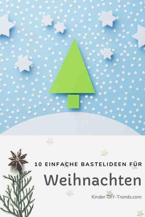 Winter Wunderland aus Papier basteln