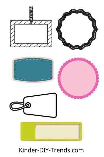 Etiketten für Schulbuch Umschläge gratis ausdrucken