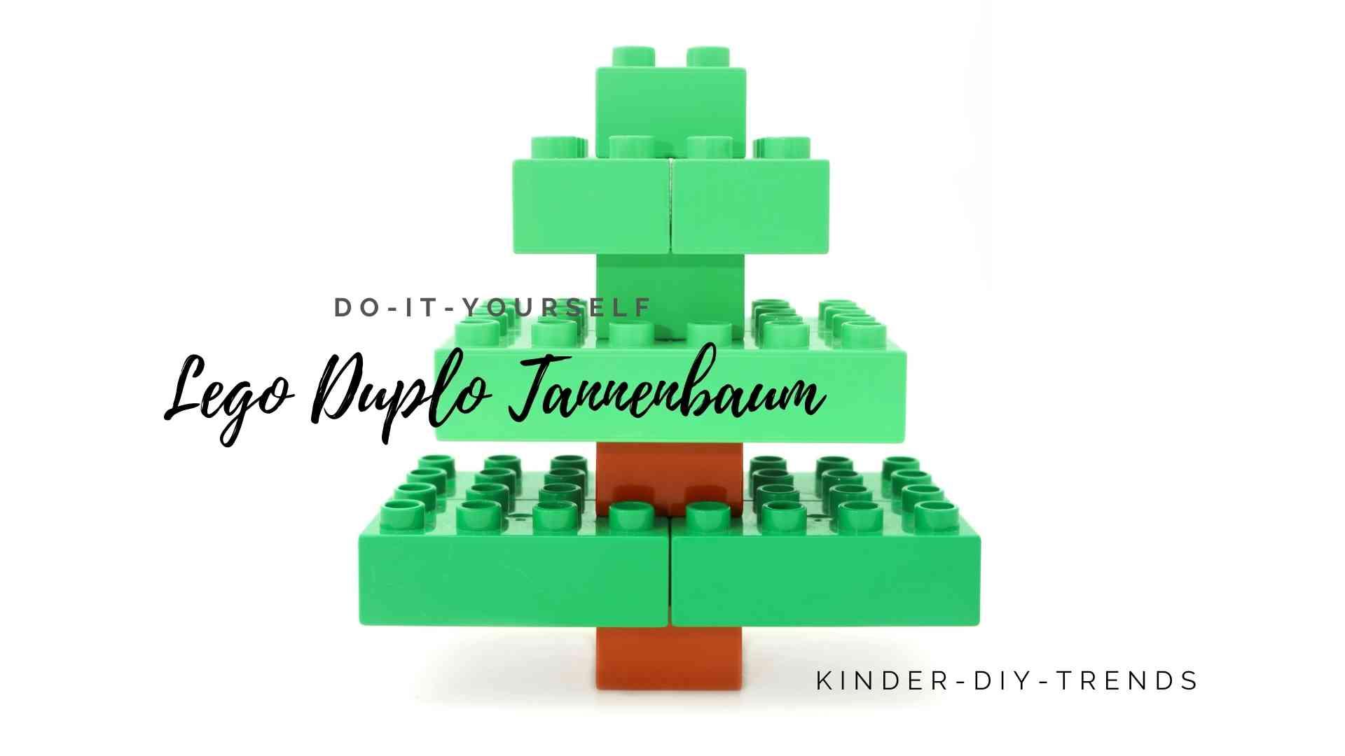 LEGO DUPLO Tannenbaum bauen - Anleitung