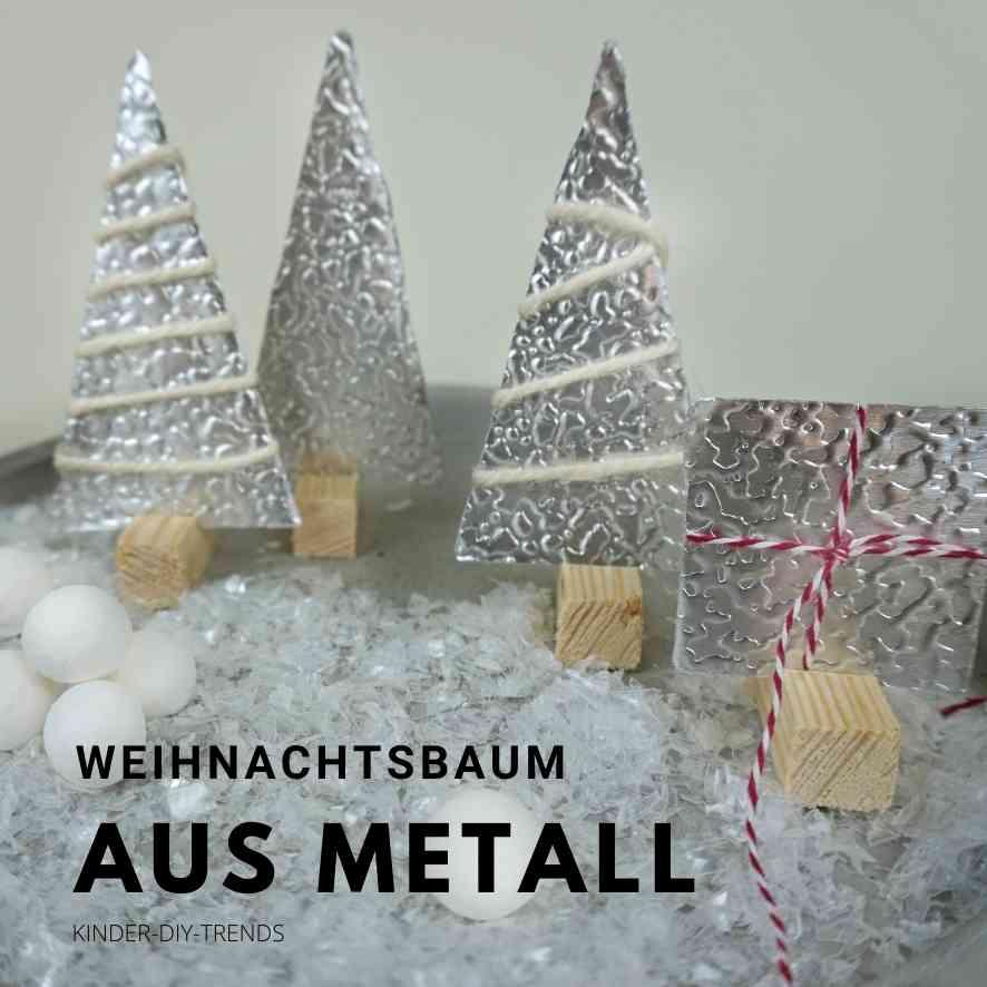 Weihnachtsbaum Bastelideen: Metall Weihnachtsbaum