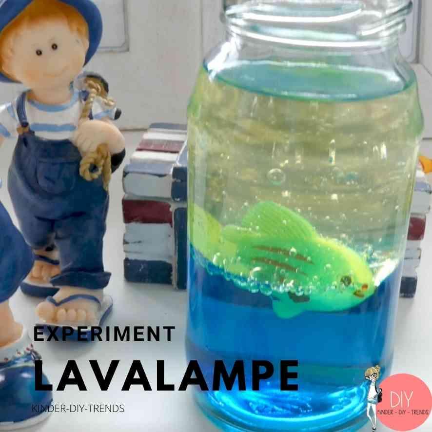 Ideen für Kinder während der Coronakrise: Lavalampe Aquarium Experiment