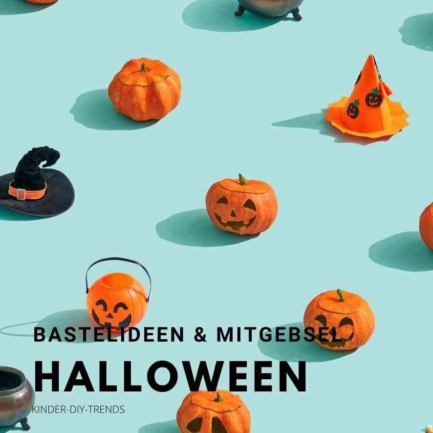 Bastelideen für Kinder im Herbst. Halloween & Erntedank Ideen