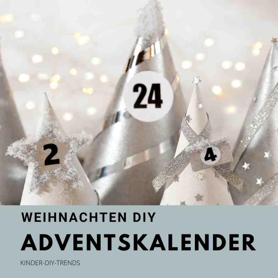 Adventskalender selber basteln mit Vorlagen & Anleitung