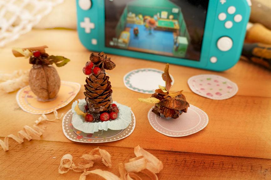 Anleitung Baumfrucht Bäumchen Animal Crossing Bastelidee