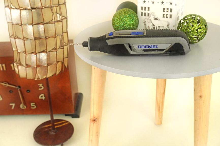 Adventskalender selber basteln DIY Hocker Upcycling - Material