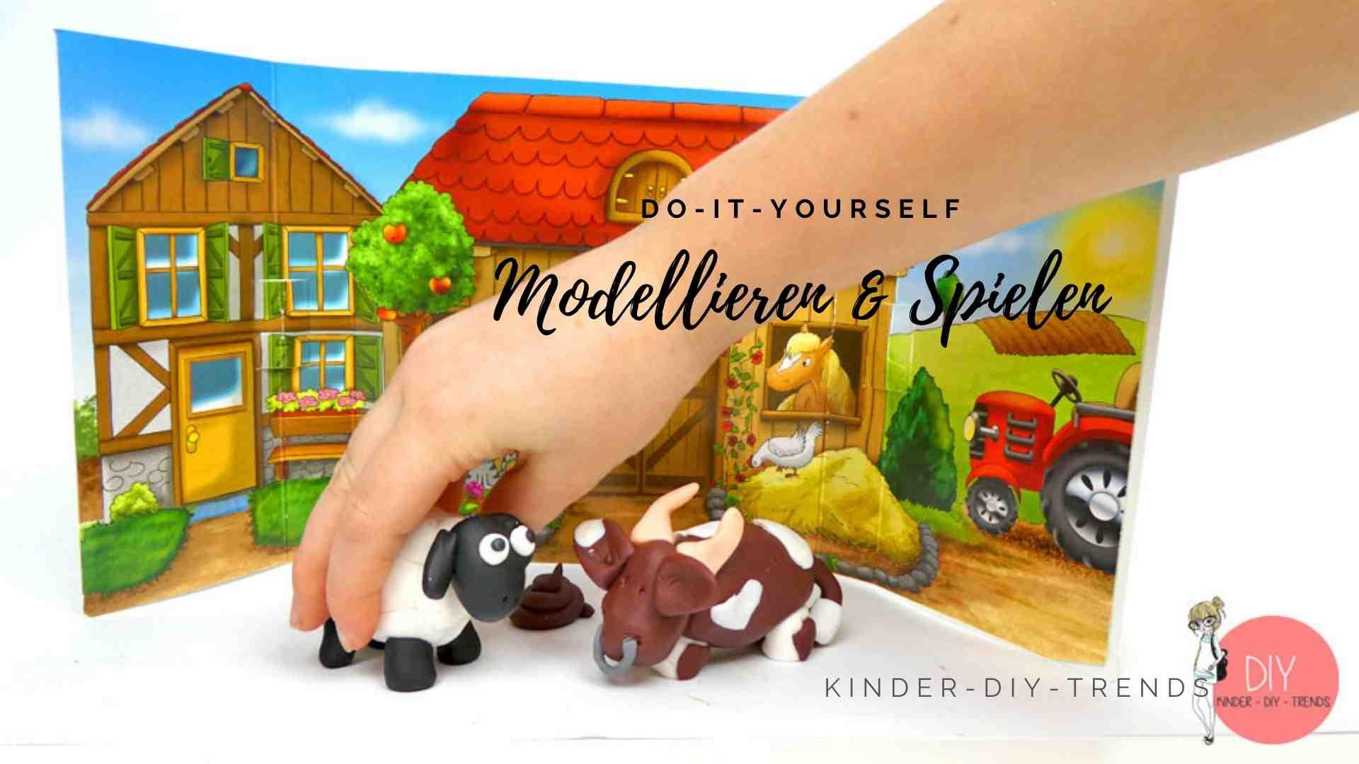 Kreative Geschenkideen für Kinder: Modellieren & kneten mit FIMO