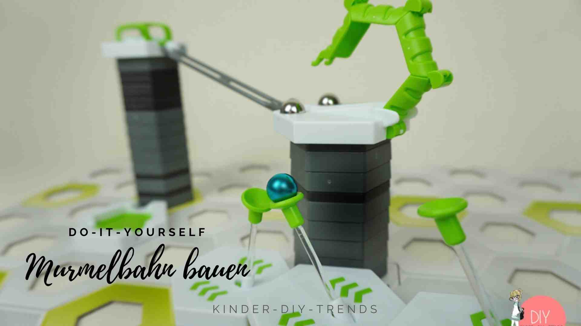 Kreative Geschenkideen für Kinder: Gravitrax Murmelbahn 3D aufbauen