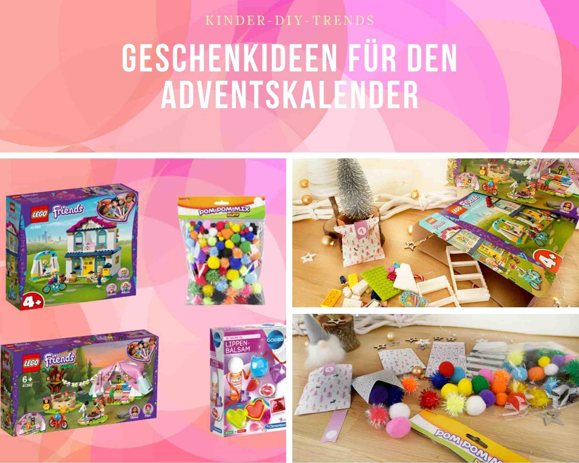 Adventskalender selber basteln - Vorlage & Geschenkideen . Adventskalender selber machen.