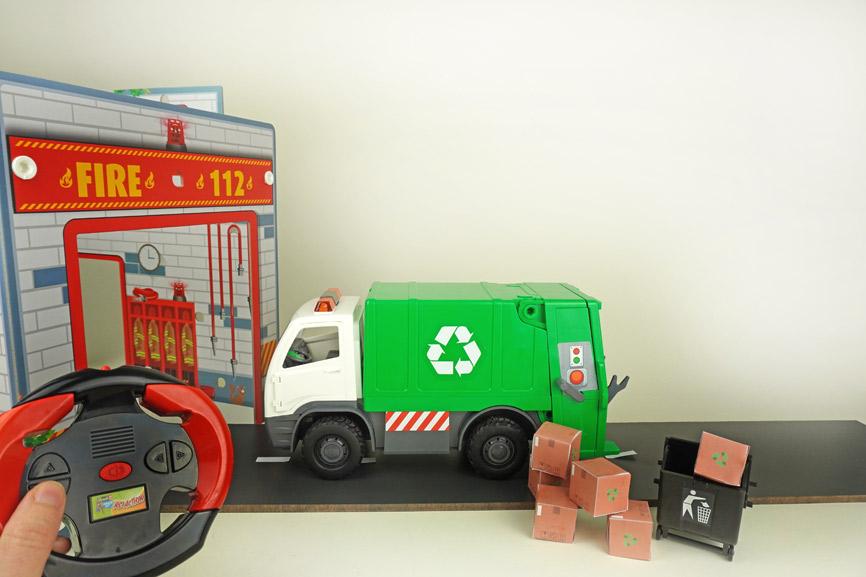 Revell Modellbau für Kinder: Müllauto Junior Kit